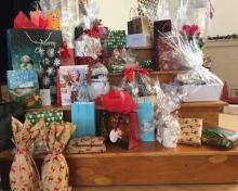 Christmas raffle prizes